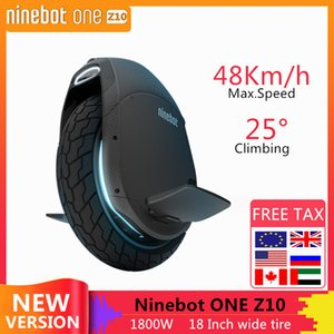 Original Ninebot Segway One Z10 Self Balancing Wheel Scooter Electric Unicycle 1800W Motor Speed 45km h build-in Handle Hoverboard Z Z6