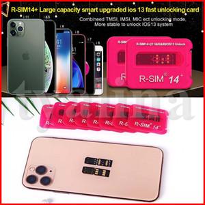 RSIM14 + Entriegelung für iphone X iOS13 RSIM14 + RSIM14 + Karte RSIM 14 automatische ICCID Entriegelungs ios x iPhone 8 8P 7 7p 6 6p schnelles Auto SIM Unlock