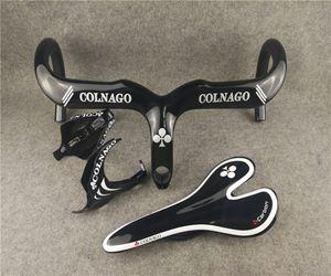 İyi qulity tam karbon fiber UD Parlak Siyah Colnago C64 C60 Kavramı karbon yol bisikleti Gidon Koltuğu Su Şişesi kafesleri ücretsi ...