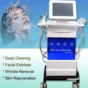 microdermoabrasione peeling vuoto pelle portatile peeling macchina più pulita la pelle morta Ossigeno Jet BIO RF macchina a ultrasuoni