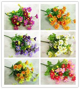 Hot fête artificielle fleur de marguerite Fête de mariage Décor bricolage Home Party Décorations de mariage