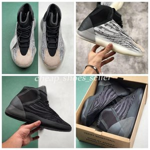 Cheap Quantum Kanye West Basketball Shoes Static White Mid Mens Basketball Shoes For Men Kanye Wes ss