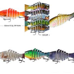ZCS4X # 5555 Luya lumineux doux squid bionique crevettes baitset fausse pêche à l'appât lumineux appât Blackfish