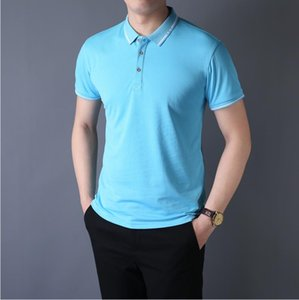 Pure color and comfortable 100% cotton Polo shirt men Luxury Designer#160;Brand 1G