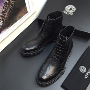 versace Mocassins en cuir de luxe Muller Designer pantoufle Chaussures pour hommes avec boucle Mode Hommes pantoufles Princetown Ladies Casual Mules g81
