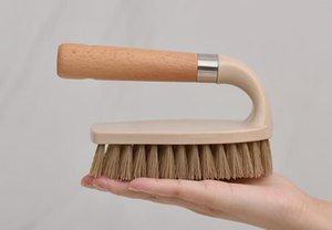 خشبية الأحذية فرشاة الغسيل متعددة الوظائف فرشاة تنظيف الطابق فرشاة المرحاض deconsolute قوية