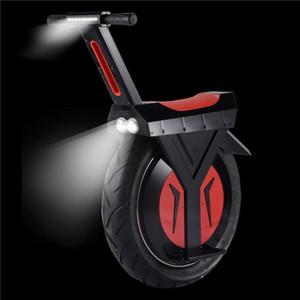 Potente Scooter eléctrico con asiento para adultos rueda grande 500W 60V una rueda autobalanceo Scooters Dos Batería eléctrico monociclo Uno