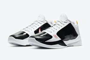 أطفال مامبا الأسود V 5 الأحذية Protro البديل بروس لي رجل إمرأة كرة السلة للبيع مع صندوق مامبا 5 الأحذية الرياضية تخزين US4-US12