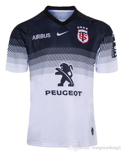 2020 camisa de ocio Tamaño deportes jerseys Toulouse Inicio Rugby Jersey 2019 Stade Toulousain Rugby Toulouse jerseys jersey liga Tluth S-5XL