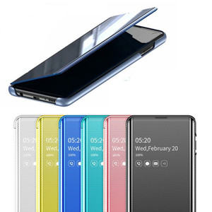 Funda de teléfono Smart Mirror para Samsung Galaxy Note 10Plus 10 S8 S9 Plus S10 S10e S7 Edge Note 9 8 A30 A50 A70 A750 Funda con tapa original