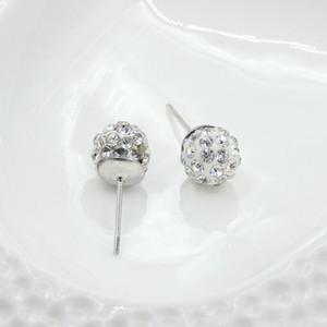 Boucles d'oreilles pour les femmes à la mode Marque Boucles d'oreilles en gros diamant dormeuses