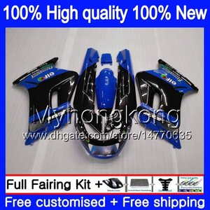 Corpo + 7Gifts Para KAWASAKI ZZR250 1990 1991 1992 1993 1994 1999 preto azul 251MY.61 ZZR 250 90-99 ZZR250 90 91 92 93 94 99 carenagens