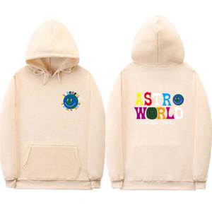 Astroworld Travis Scott Männer Kapuzenshirt beiläufige Hoodie Hip Hop Street Langarm-Designer Hoodie Sweatshirts
