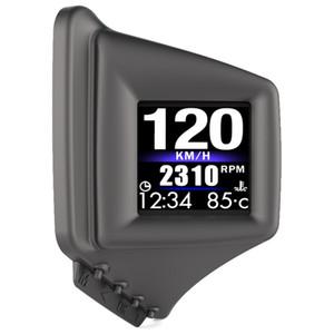 모든 차량에 대한 속도 향상 테스트 브레이크 테스트 과속 경보와 자동차 HUD 헤드 업 디스플레이 OBD2 + GPS 속도계, AP-1