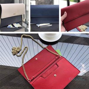 2020 Chain Bags PU Leather KS Women's Messenger Bag Elegent Fanny Pack Crossbody Flip Handbags Dinner Party Pouch Wallets B72402