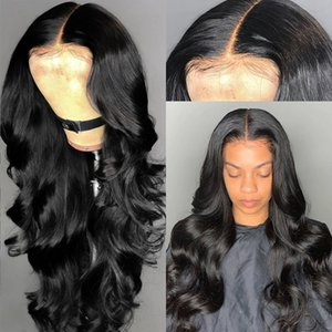 Glueless Full Lace Wigs Brazilian Virgin Hair Body Wave Silk Top Lace Front Wigs Remy Human Hair With Baby Hair