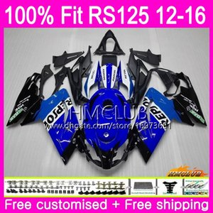 Injection For Aprilia RS-125 RS125RR RS125 12 13 14 15 16 Repsol blue 37HM.16 125R RS4 RSV125 RS 125 2012 2013 2014 2015 2016 OEM Fairing