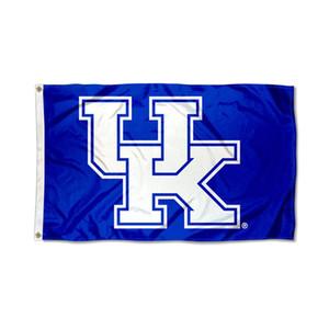 NCAA 3Kentucky-Wildcats UK Flagge, Hänge Werbung Digitaler Printed Polyester Outdoor Indoor Verbrauch, Tropfen Verschiffen, freies Verschiffen