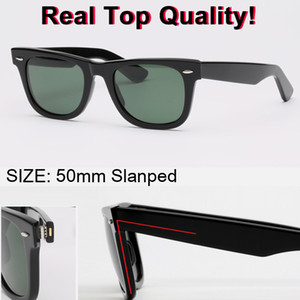 nuovi occhiali da sole di top brand modello farer Acetato reale UV400 occhiali da sole lenti in vetro Custodia in pelle originale pacchetti tutto!