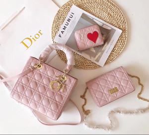 Las nuevas señoras del bolso del bolso de tres piezas conjunto famoso diseñador de la marca de moda de estilo mochila bolso crossbody bolso de cuero de las mujeres