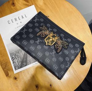 Business-Mann-Aktenkoffer-Beutel-Luxus-Designer-Laptop-Tasche Büro große Kapazitäts-Aktenkoffer Mann Taschen Interior Design