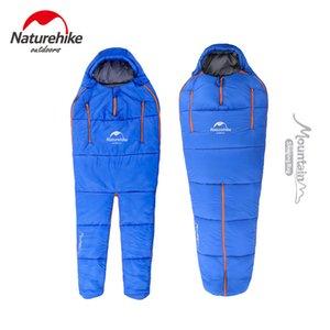 NatureHike Wearable Camping Sacco a pelo Forma del corpo Busta per adulti Sacchi a pelo di cotone caldi per campeggio all'aperto Escursionismo C18112601