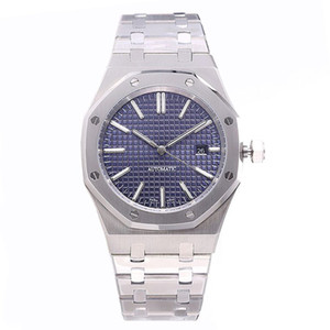 U1 hombres miran 41mm completa de acero inoxidable correa de reloj automático de oro superior luminoso reloj de pulsera de la calidad de zafiro orologio di Lusso 5 ATM impermeable