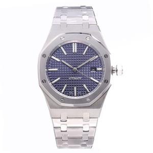 41mm de lujo reloj completa de acero inoxidable correa de reloj automático de oro superior luminoso reloj de pulsera de la calidad de zafiro orologio di Lusso 5 ATM impermeable