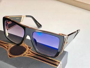 Casual óculos de sol Mulheres Homens marca de moda Designer Gradient Lens Sapo Espelho Quadrado Moldura Sun Glasses Driving Eyewear Óculos Oculos UV400