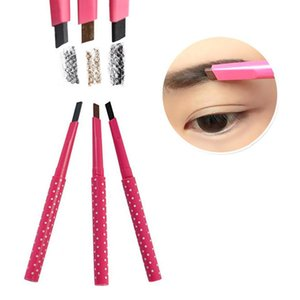3 Styles Eyebrow Stencils Set Waterproof Natural Eye Brow Pen Cosmetic Shaping Liner Eyebrow Shaping Card Shadow Pencil