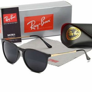 2020 New Ray Sunglasses Vintage Pilot Brand Sun Glasses Band Polarized UV400 Bans Men Women Ben Sunglasses With Box and Case #171