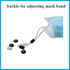100 pc Wholesale Buckle For Adjusting Mask Band Detachable Elastic Plastic Anti-Slip Mask Ear Grips Extension Hook Face Masks Buckle
