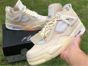 2020 4 authentiques rejets hors SP WMNS Hommes Chaussures de basket-Mousseline Blanc Noir Zapatos Voile Bred CV9388-100 Chaussures authentiques Chaussures US 5-13