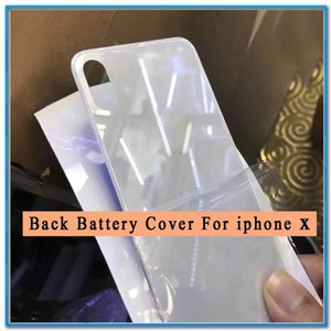 For Apple iPhone XS XR X XSMAX Back Cover For iPhone XSMAX Back Battery Cover Rear Glass Housing Case+Adhesive Sticker Replacement