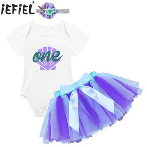 Baby Girls Romper Dress Summer Glittery Letters Printed Newborn Clothes Baby Rompers with Bowknot Tutu Skirt Cute Headband Set