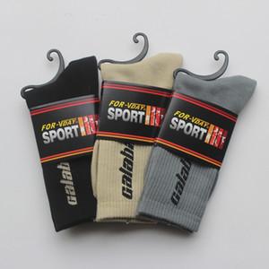 Aşık Kaykay Spor Hip Hop Pamuk Çorap Erkekler Sphort sockings Harf Tüp Pamuk Çorap olarak yazdır