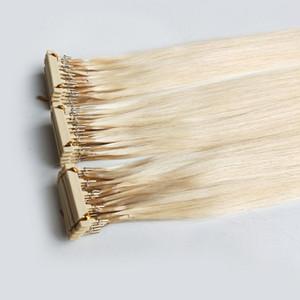 6d Tip Pre Bond Extension de cheveux humains exclusives pour les clients VIP 6d produits de deuxième génération # 60 couleur 150g