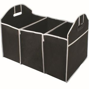 Dobráveis Bolsas Car Organizer Bota material Food Storage Bags caixa caso organizador tronco Automobile Estiva Tidying Interior EEA344