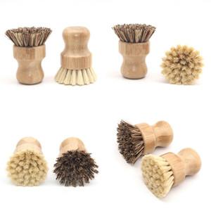 Lavavajillas cepillo Phoebe Henryi bambú cepillos Pot friega completamente de pelo corto manija eliminar las manchas Arrvial 5 5zq B2