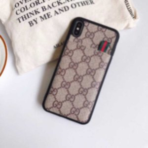 Classic Slim Monogram Bumper Phone Case For Iphone 11 Pro Max XS Max XR X 8 7 6 Plus Shockproof phone cove Full Back Cover A06