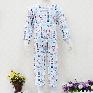 Big Boys 100% Cotton Rompers Long Sleeve Girls Sleepers One Piece Children Clothes for about 1 to 4 years old baby Christmas Y200704