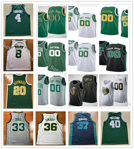 Impresso Romeo Langford Robert Grant Williams III Brad Wanamaker Carsen 4 Edwards Vincent Poirier Waters Tacko queda JaVonté Jersey