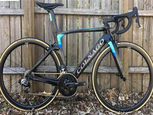Colnago Синего Diy дорога углерода полного велосипед полного велосипед с R7010 38мм дорога списка групп CARBON Wheelset