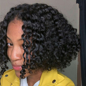 130 Density Black Color BOB Straight Wave Lace Frontal Wigs With Pre Plucked Hairline Brazilian Virgin Human Hair Lace Wigs Ship To USA