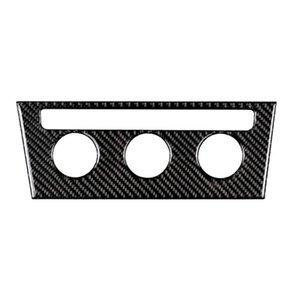 Conmutador de fibra de carbono de la consola de CA Ajuste de la cubierta engomada del coche 260 * 96mm Car Styling para golf 7 2013-2017 Automotive Interior Pegatinas