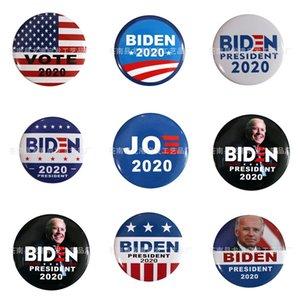 10 PC 1 Tronco Parches Bordados para el hierro Parche Ropa para el paño Costura de adornos accesorios etiquetas Biden insignia en la ropa de hierro en P # 73
