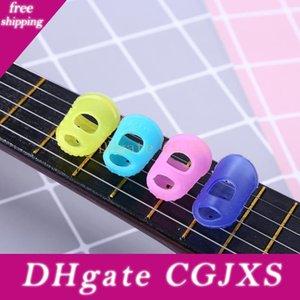 Guitarra Silicone dedo polegar Picks Protector ponta do dedo polegar Caps guitarra Acessórios para guitarra baixa Banjo Ukulele