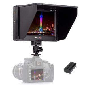 Freeshipping 7 '' clip-on tft hd lcd 4 k câmera monitor de vídeo display hdmi entrada av para canon nikon dslr bmpcc
