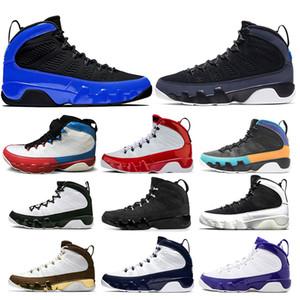 Yeni Stil 9 9s Yarışçı Mavi Bukalemun Basketbol Ayakkabı Spor Kızıl Rüya It Do It UNC Space Jam Antrasit Erkek Eğitmenler Sneakers Bred