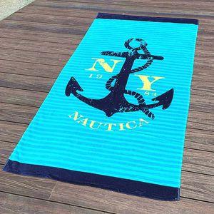 Hersteller großhandel export europäisch-stil reine baumwolle weiche erhöhen verdickt reaktiven druck erwachsenen strand towel
